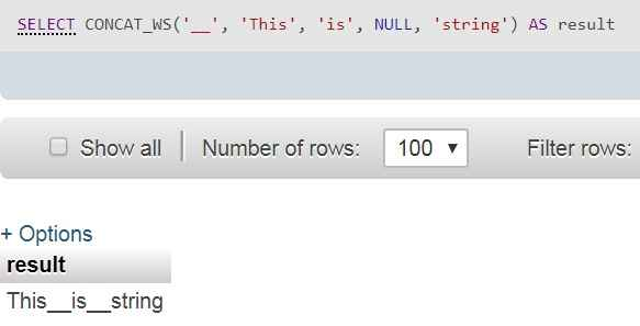 concat_ws function with null string - techbriefers.com