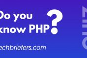PHP Quiz | Do you know PHP | Techbriefers