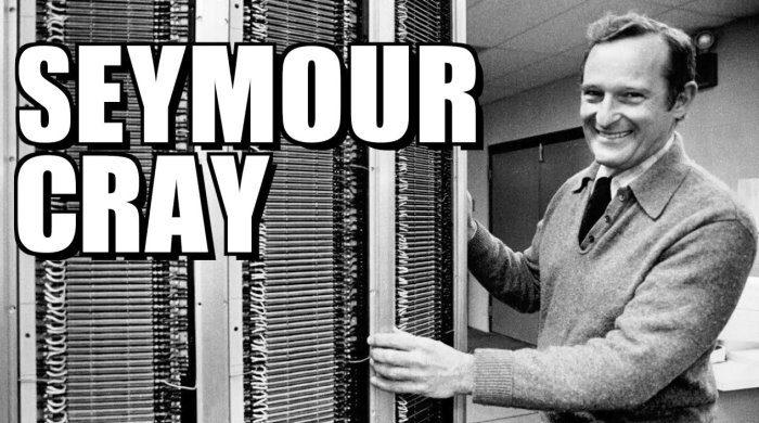Supercomputer architect Seymour Cray