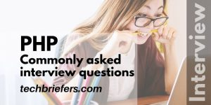 Commonly asked PHP interview questions