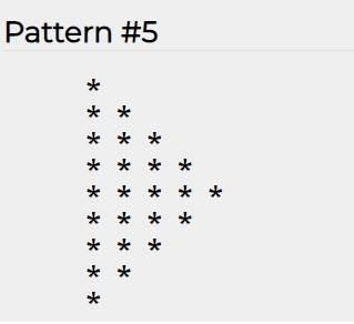 Triangle pattern simple - 5