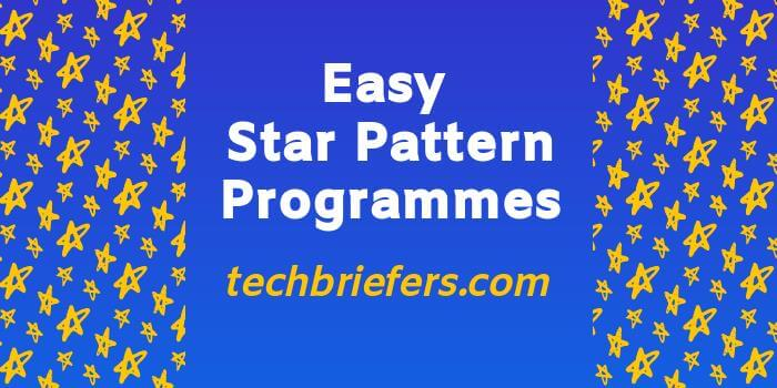 Easy Star pattern programs in PHP