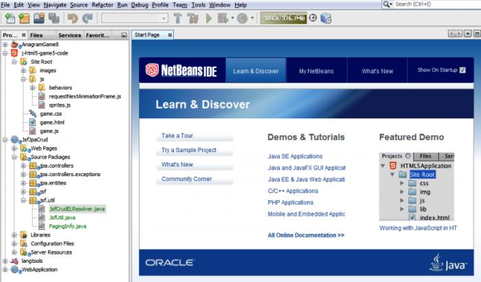 NetBeans: Best Open source PHP IDE