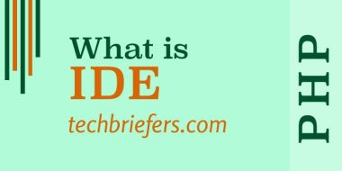 What is an IDE (Integrated development environment)