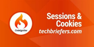 How to work with Sessions and Cookies in CodeIgniter