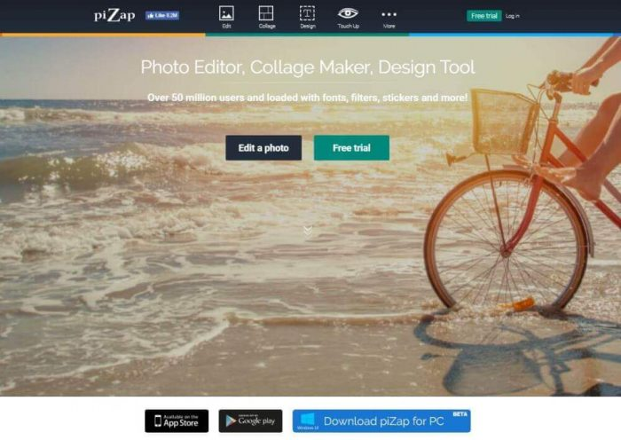 Pizap: Best photo editor
