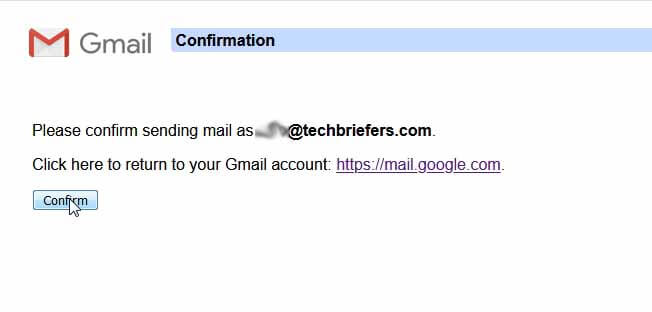 Successfully receive mails from domain mails in Gmail account