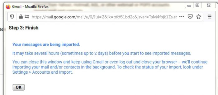 Merge domain mail to Gmail