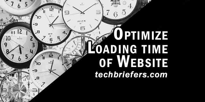 Why to optimize the loading time of website