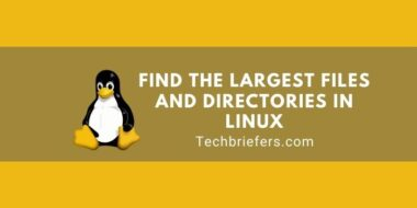Find The Largest Files And Directories In Linux