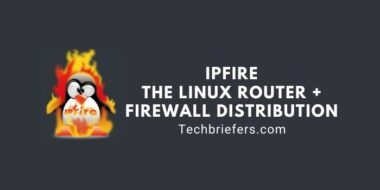 IPFire - The Linux Router + Firewall distribution