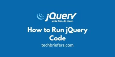 Jquery Tutorial #3: How to Run jQuery Code (event ready)