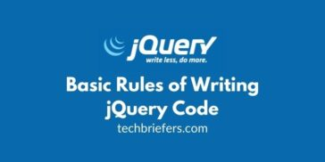 JQuery Tutorial #4: Rules of Writing jQuery Code