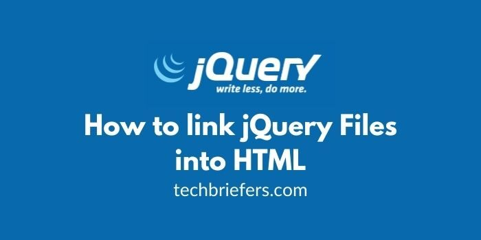 JQuery Tutorial #2: How to link jQuery Files into HTML