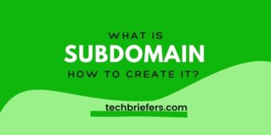 what is a subdomain and How to create a Subdomain of a website?